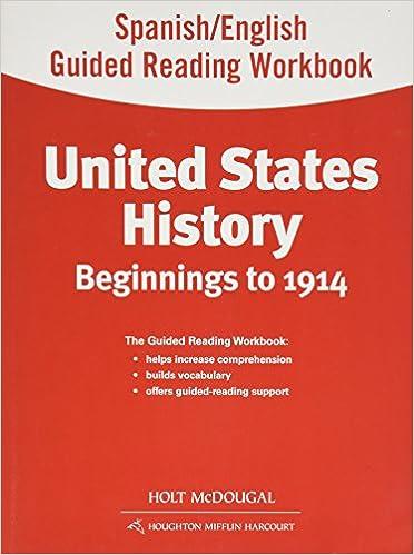Buy United States History Grades 6 8 Spanishenglish Guided Reading