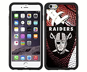 Oakland Raiders Football Sports RUBBER Snap on Phone Case 5C