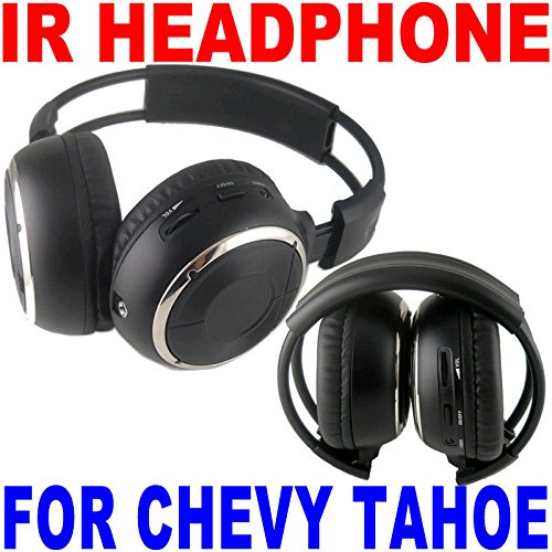 2 Wireless Folding Headphones Chevrolet Tahoe