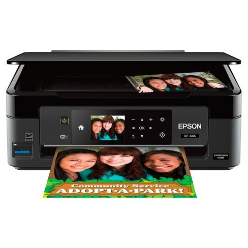 Epson Expression XP-446 Small-in-One Printer Wireless Print Copy Scan Photo