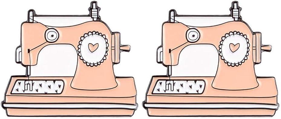CoSunny - Pins para Coser a máquina (2 Unidades), esmaltados ...