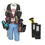 Occidental Leather 2538 Builders' Vest Drill Package Bundle w/ (2) Pack 2003 Oxy Tool Shield (3 Pieces)
