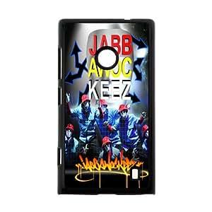 ABDC Champions Jabbawockeez Personalized Nokia Lumia 520 Hard Plastic Black Case Cover Shell (HD image)