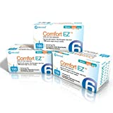 Clever Choice Comfort EZ Insulin Pen Needles 31G 6mm (1/4'') 3-pack (300 needles)