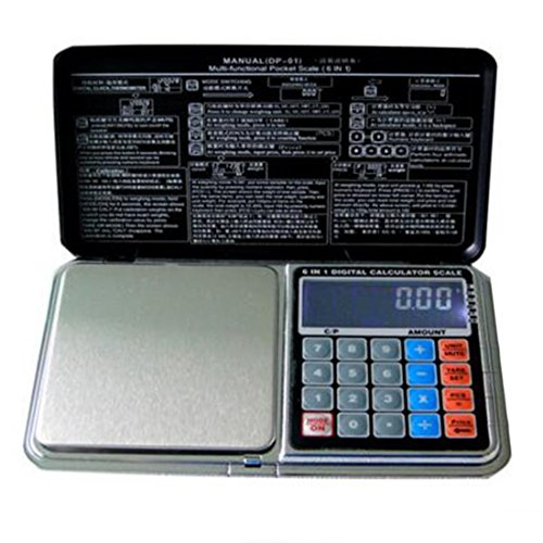 Digital Pocket Scale 200g/0.01g,Jewelry Scales Electronic Kitchen Scale Calculator Function and other Precious Objects