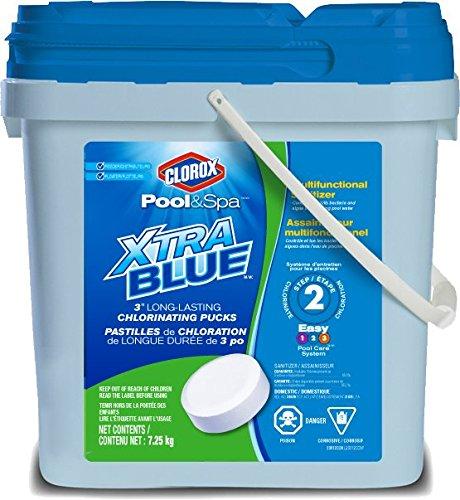 Clorox Pool& Spa 23012CCN XtraBlueTM/MC 3 Long-Lasting Chlorinating Pucks
