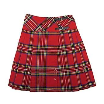 Tartanista - Kilt/Falda Escocesa Cruzada Larga - 58 cm (23