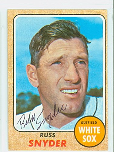Russ Snyder AUTOGRAPH 1968 Topps #504 Chicago White Sox