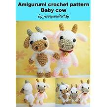 Amigurumi crochet pattern Lolly baby cow