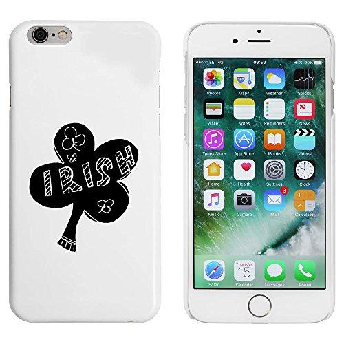 Weiß 'Irischer Klee' Hülle für iPhone 6 u. 6s (MC00049666)
