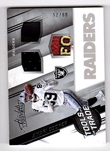 2016 Panini Absolute Tools of the Trade Amari Cooper #2 NM+ 50/50 MEM 09/75 -
