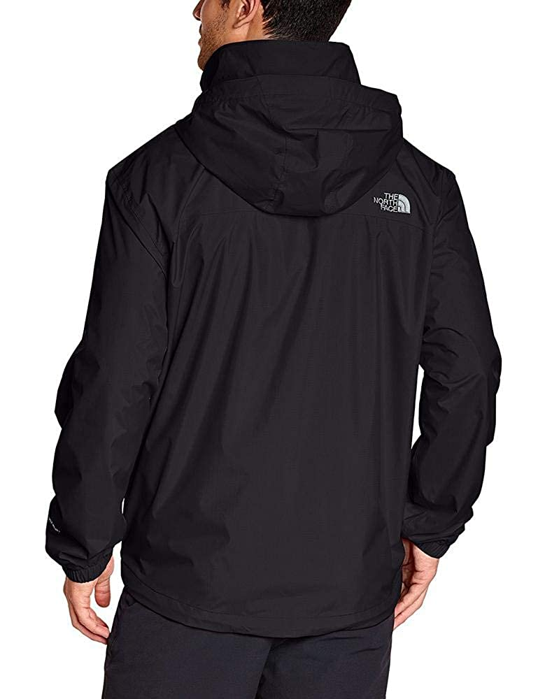 33f88309d5 The North Face Men's Resolve Jacket, black, Small: Amazon.co.uk: Sports &  Outdoors