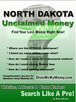 Search for Unclaimed Property - North Dakota