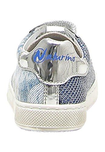 Naturino , Baskets pour fille bleu denim
