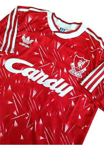 Candy Retro Shirts (LIVERPOOL CANDY RETRO SHIRT, JERSEY 1989 - 1991, SIZE)