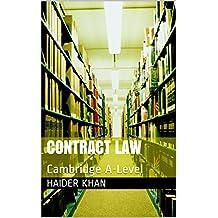 Contract Law: Cambridge A-Level