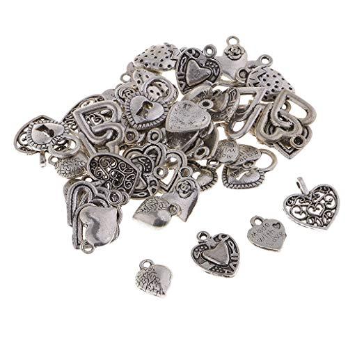 Breloquesen Ipotch Vêtements Pour Vintage Alliage Pendentifs Coeur Poupée De Main Sac À 50g Décoration Chaussure RREq41w