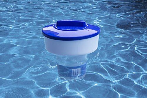 Aquatix Pro Pool Chemical Dispenser Offers Strong Floating