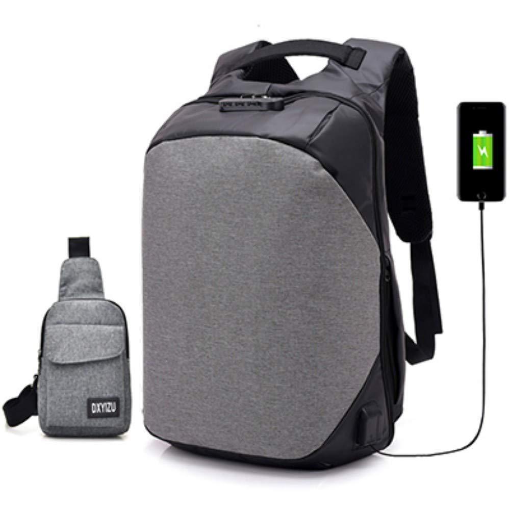 B2 453118cm Sac à Dos d'affaires en Plein Air Sac D'Ordinateur Sacoche USB Charge Poche De Stockage, B1, 45  31  18Cm