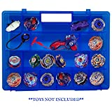 Life Made Better Blue Toy Storage Organizer 2.0 Newly Improved, Durable, Built in Handle, Toy Storage Organizer...