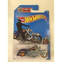 2016 Hot Wheels Regular Treasure Hunt Hw Moto - Bad Bagger - Comes in Car Protector Case