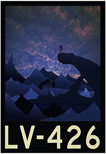 LV-426 Retro Travel Poster 13 x 19in