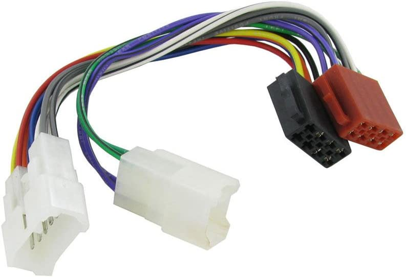 Amazon.com: Wiring Lead Harness Adapter for Toyota ISO Stereo Plug Adaptor:  AutomotiveAmazon.com