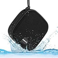 INSMART IPX7 Waterproof Speaker, Bluetooth Speakers, Portable Speakers with 12 Hours playtime, 8W Driver, Built-in Mic, Hands-Free Speakerphone, Lanyard and Suction Cup Mount