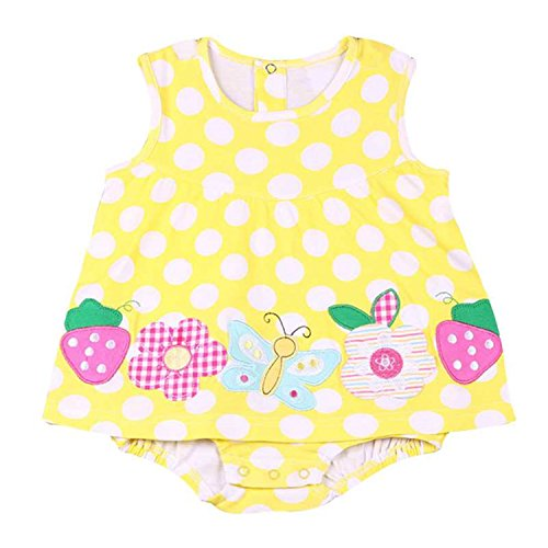 Summer Casual Cute Kids Girl Princess Dress Baby Party Cotton Girls Dresses...
