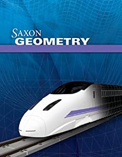 Saxon Geometry: Homeschool Kit with Solutions Manual (1600329764) | Amazon Products