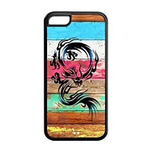 5s Phone Cases, Dragon Hard pc hard Rubber Cover Case for iphone 5s