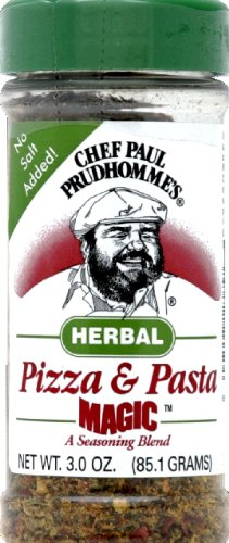 Chef Paul Pizza Pasta Magic 3.0 OZ (Pack of (Pizza Seasoning Blend)