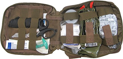 (First Aid Kit By Renegade Survival for Camping and Hiking or Home and Workplace. It Is a Ifak Level #1 Drop Leg First Aid Kit for the Prepper Who Wants Tactical Gear for Trauma or to Use Case Case of a Natural Disaster or Outdoor Survival. Renegade Survival Wants You to Survive and Thrive.)