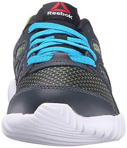 Reebok ReebokTWISTFORM Blaze 2.0 Fade - K - Twistform, Blaze 2.0 Fade, K Unisex-Kinder Nocturnal Blue Grey/Black/Semi Solar Green