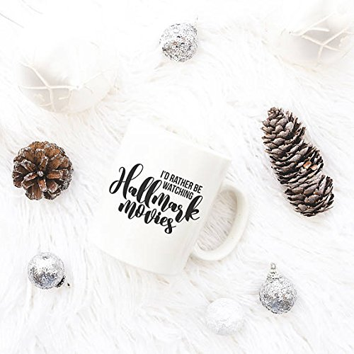 Price comparison product image Hallmark MoviesMug,  Funny Mugs for Women,  Christmas Mug,  Christmas Movies,  Gift for Friends,  11oz 15oz