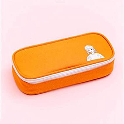 Estuches Caja De Lápices Grandes De Color Sólido De Color Naranja ...