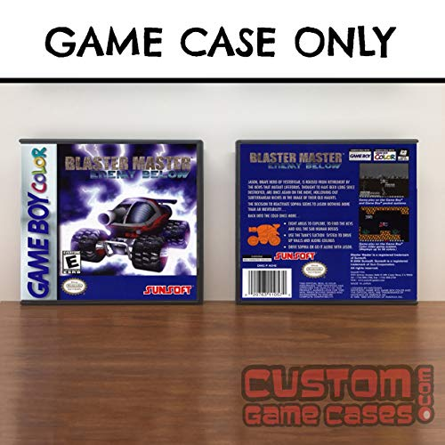 Gameboy Color Blaster Master: Enemy Below - Game Case
