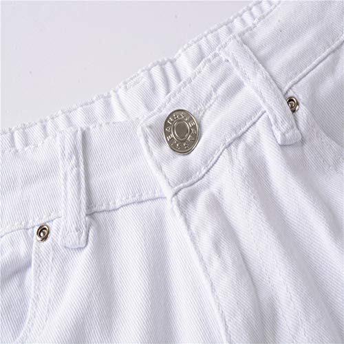 Slim 3 Denim Pantaloni Uomo Skinny Strappati Jeans Stretti Distrutto 1AqW4