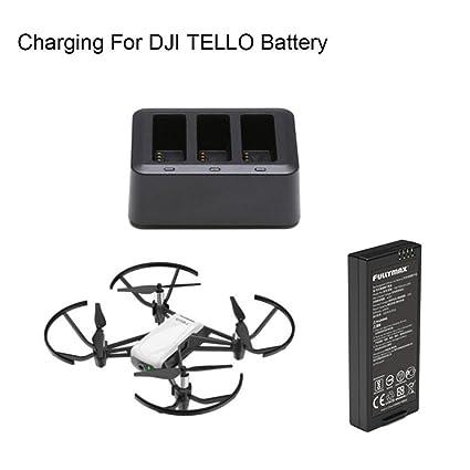 Amazon.com: Cargador de batería para DJI Tello Drone, Rucan ...