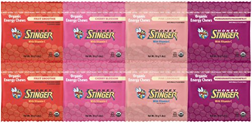 Honey Stinger Organic Energy Chews – Variety Selection (8 x 1.8oz bags)