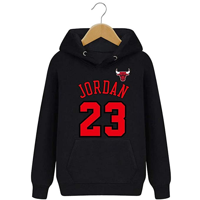 LJA Hombre Bulls Jordan 23 Sudaderas con Capucha: Amazon.es: Ropa y accesorios