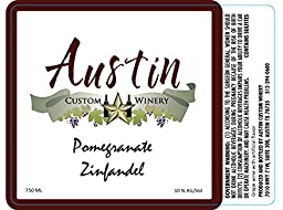 NV Austin Custom Winery Pomegranate Zinfandel 750 ml