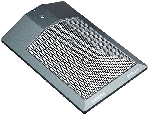- Shure BETA 91A Half-Cardioid Condenser Kick-Drum Microphone (Includes Integrated Preamplifier and Male XLR Output)