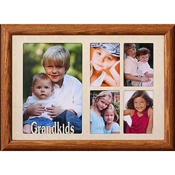 Amazon.com - 7x10 GRANDKIDS ~ Multi-Collage Portrait Picture Frame ...