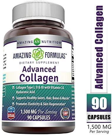 Amazing Formulas Advanced Collagen Capsules product image