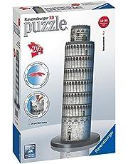 Ravensburger - Puzzle 3D, diseño Torre de Pisa (12557 9)