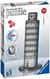 Ravensburger Leaning Tower of Pisa 216 Piece 3D Jigsaw Puzzle for Kids and Adults - Easy Click Technology Means Pieces Fit Together Perfectly