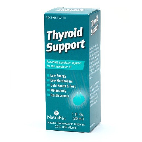 Natra-Bio Support Thyroïde 1 oz (2-Pack)