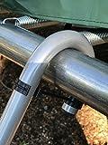 Trampoline Wide 2-Step Ladder with Safety Latch