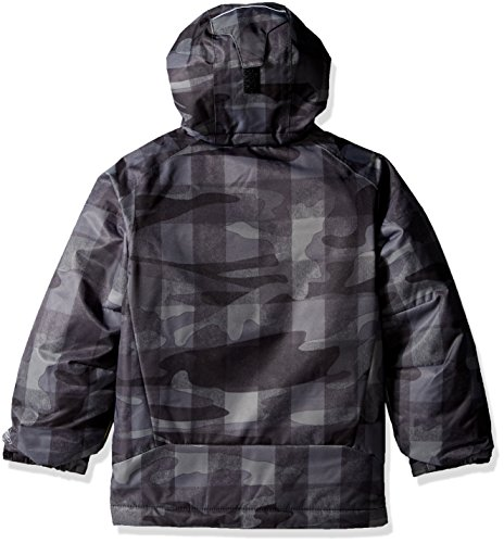 bright Jacket Blue Buffalo Plaid Waterproof Boy Pizzo Hyper 'twist Columbia Black qnCwY4XIU